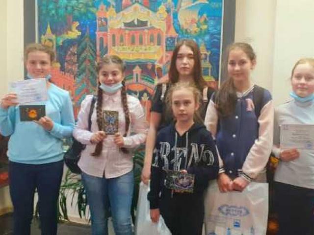 Юные художники из Лакинской ДШИ - лауреаты конкурса в Мстере