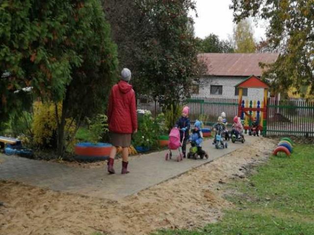 В детском саду Вышманова...