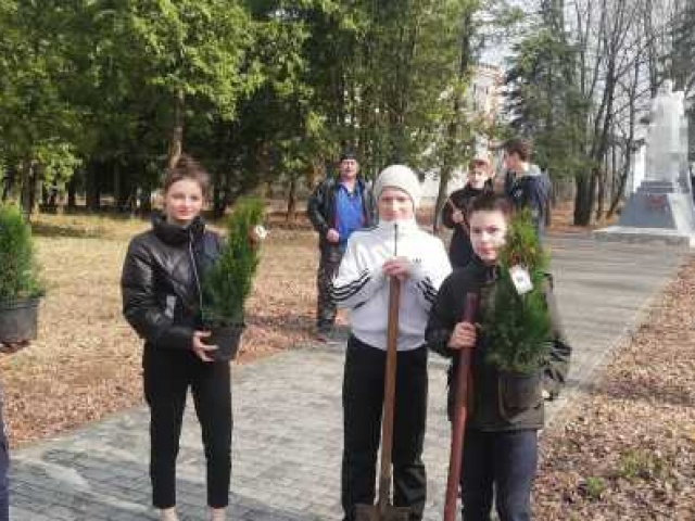 Сад Памяти в Курилове
