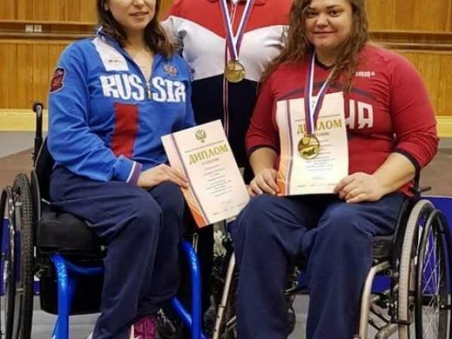 Вера Муратова стала победительницей Чемпионата России по спорту ПОДА