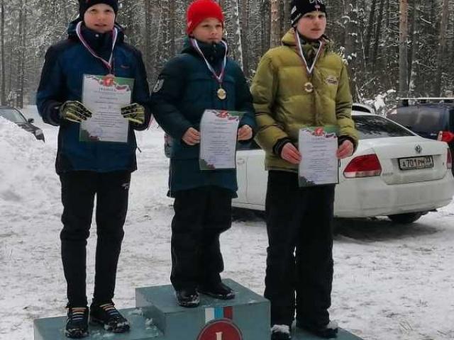 Наши лыжники отстояли честь Собинского района