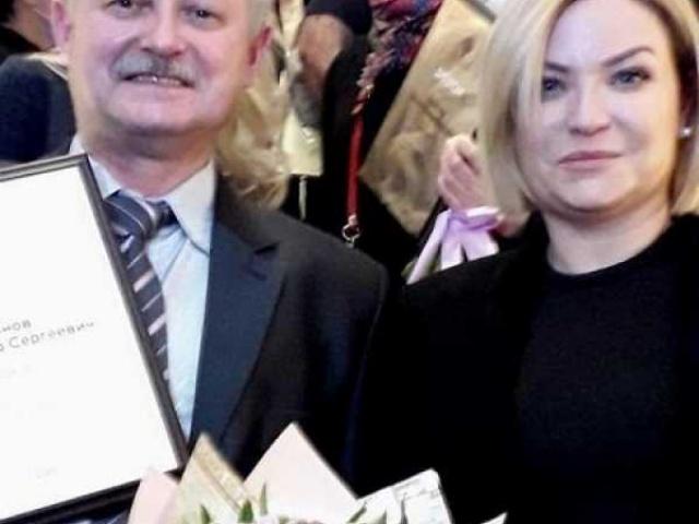 Земляк получил награду от министра культуры