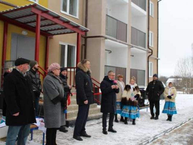 Новогоднее новоселье в Толпухово