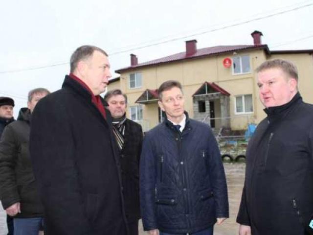 От здравоохранения к бизнесу: Владимир Сипягин осмотрел ряд важных объектов в Собинском районе